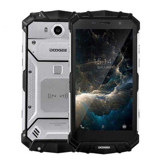 Смартфон Doogee   S60 64 ГБ серебристый