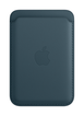 iPhone Leather Wallet with MagSafe - Baltic Blue