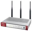 Межсетевой экран Zyxel ZyWALL USG FLEX 100W с набором подписок на 1 год (AS,AV,CF,IDP), 2xWAN GE (1xRJ-45 и 1xSFP), 1xOPT GE (LAN/WAN), 3xLAN/DMZ GE,