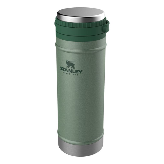 Термокружка Stanley The Travel Mug French Press (10-01855-014) 0.47л. зеленый