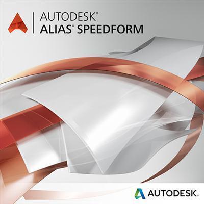 Autodesk Alias SpeedForm (продление электронной версии, GEN), локальная лицензия на 1 год, A62H1-005320-T874