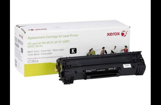 Фото товара Картридж Xerox восстановленный для HP, CF283A, чёрный, 1.5K