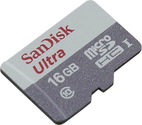 Карта памяти SanDisk MicroSDHC Class10