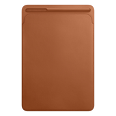Apple Leather Sleeve for 10.5-inch iPad Pro Saddle Brown, MPU12ZM/A