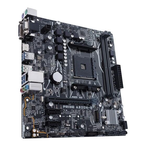 Материнская плата ASUS AMD A320 PRIME A320M-E