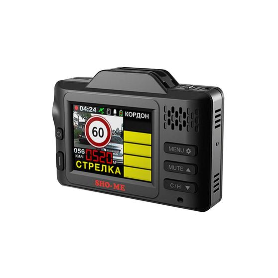 Комбо-устройство (регистратор+детектор) Sho-Me SMART SIGNATURE