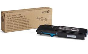 Phaser 6600/WorkCentre 6605, голубой тонер-картридж повышенной емкости