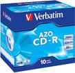 Диск CD-R Verbatim 700Mb 52x Jewel case (10шт) (43327) фото