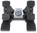 Контроллер для игровых авиасимуляторов Logitech G Flight Rudder Pedals (педали управления рулём и ножным тормозом для