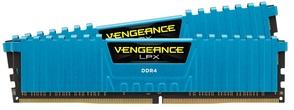 Оперативная память Corsair Vengeance LPX DDR4 3000МГц CMK16GX4M2B3000C15B, RTL