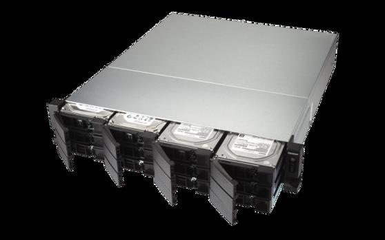Сетевое хранилище QNAP 12 disks TS-1273U
