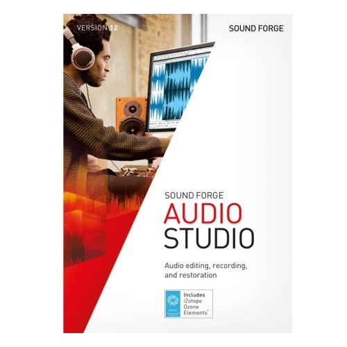 Magix MAGIX SOUND FORGE Audio Studio (лицензия 14), версия ESD Site, ANR009691ESDL1