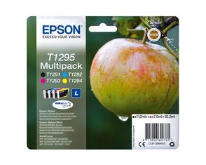 Картридж черный, голубой, пурпурный, желтый Epson C13T12954012