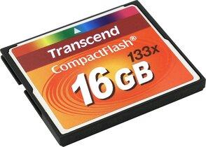 Карта памяти TRANSCEND CF 16GB