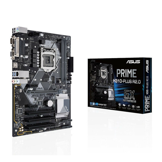 Материнская плата ASUS Intel H310 PRIME H310-PLUS R2.0