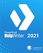 SAPIEN PowerShell HelpWriter 2021