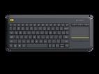 Клавиатура Logitech K400 920-007147, цвет черный фото