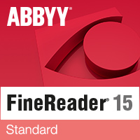 ABBYY FineReader 15 Standard (лицензия Full, Standalone), AF15-1S1W01-102