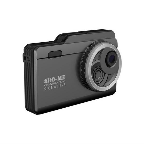 Комбо-устройство (регистратор+детектор) Sho-Me SLIM SIGNATURE