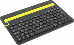 Клавиатура Logitech Multi Device K480 920-006368, цвет черный