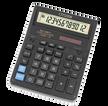 Калькулятор бухгалтерский Citizen SDC-888TII черный 12-разрядный 2-е питание, 00, MII, mark up, A0234F фото