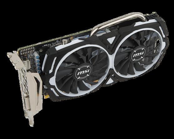 Видеокарта MSI Radeon RX 570 8 ΓБ Retail