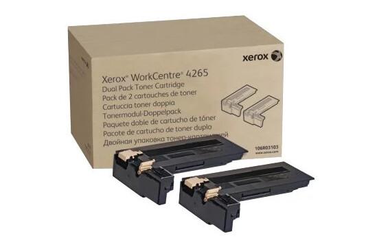 WorkCentre 4265, комплект из двух тонер-картриджей повышенной емкости
