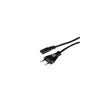 HAMA Power 2-pin/евровилка 1.5м фото