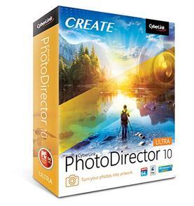 CyberLink Corporation CyberLink PhotoDirector (лицензия Ultra), количество лицензий версии 10, PHD10USC01