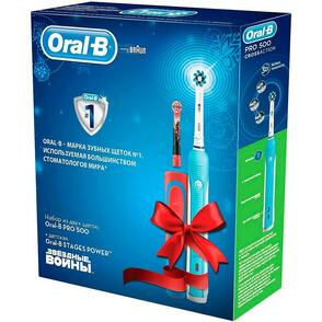 Электрические зубные щетки Oral-B PRO 500