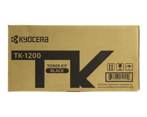 Тонер-картридж черный Kyocera TK-1200, 1T02VP0RU0