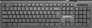 Клавиатура Defender OfficeMate SM-820 45820, цвет черный