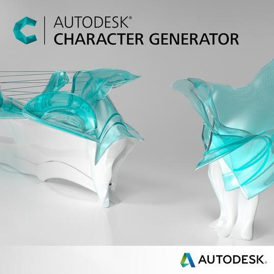 Autodesk Character Generator (продление электронной версии), локальная лицензия на 2 года