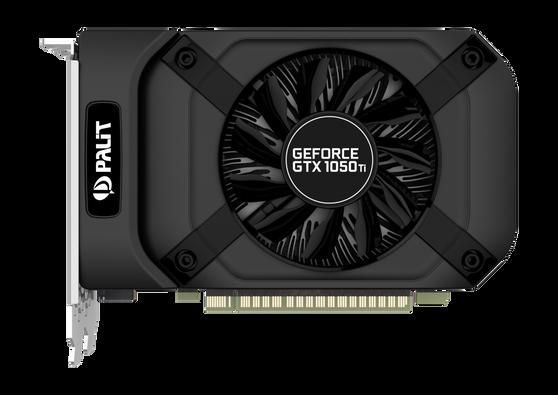 Видеокарта Palit GeForce GTX 1050Ti 4 ΓБ Bulk