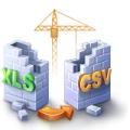 WhiteTown Software XLS, Excel to CSV Converter (пользовательская лицензия), Personal