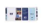 Печатающая головка светло-голубой HP Inc. 83, C4964A