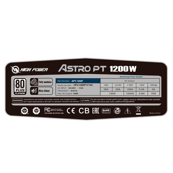 Блок питания Inwin ATX12V APT-1200F