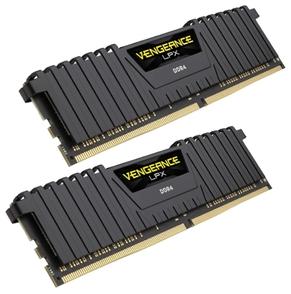 Оперативная память Corsair Venegance LPX DDR4 2400МГц 2x4GB, CMK8GX4M2A2400C16