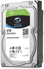 Жесткий диск  SEAGATE Skyhawk 3.5  6TB 5.4K SATA3