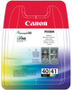 Картридж черный, голубой, пурпурный, желтый Canon PG-40/CL-41, 0615B043