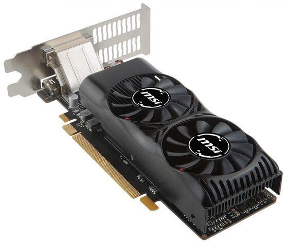Видеокарта MSI GeForce GTX 1050Ti 4 ΓБ Retail