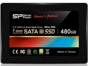 Внутренний SSD Silicon Power Slim S55 480Gb