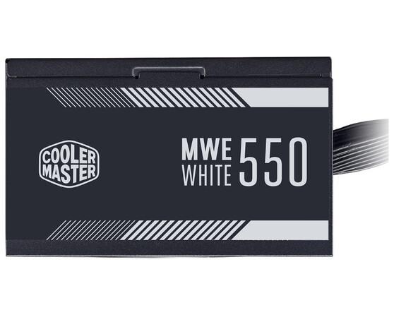 Блок питания Cooler Master MWE White 550