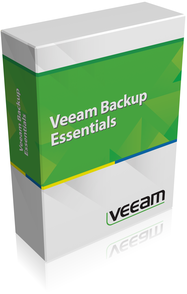 Veeam Backup Essentials Standard 2 socket bundle. Includes 1st year of Basic Support.