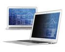 """Экран защиты информации для ноутбука 3M PF154W1B (7000013837) 15.4"""" черный фото"""