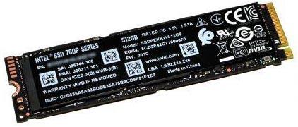 Внутренние SSD Intel Original PCI-E 512Gb
