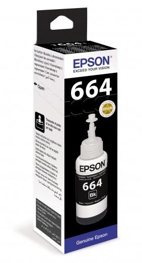 Картридж черный Epson C13T66414A
