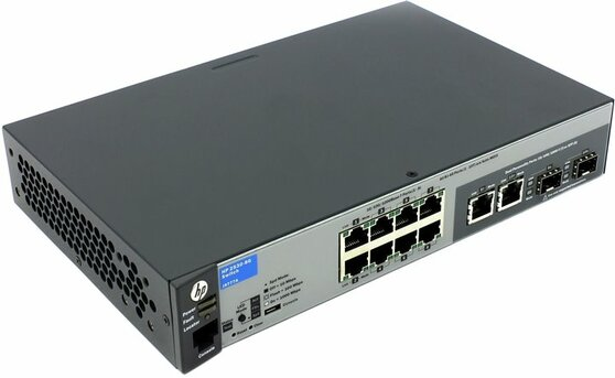 Коммутатор Hewlett Packard Enterprise 2530-8G
