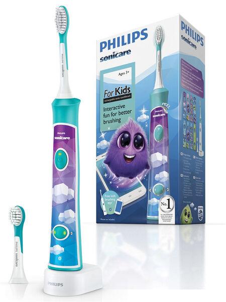 Электрические зубные щетки Philips Sonicare For Kids HX6322/04