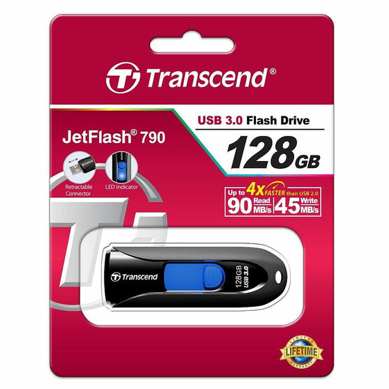 Флешка TRANSCEND JetFlash 790 128GB